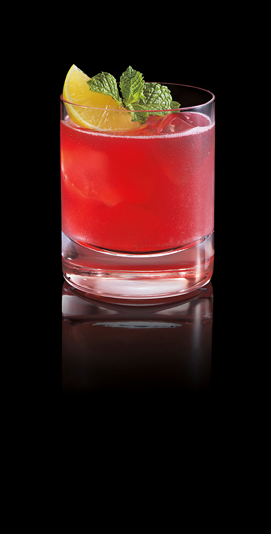 BACARDÍ Red Rum Punch Image