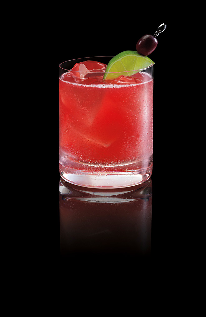 GINGERBERRY BACARDÍ Rum Punch Image