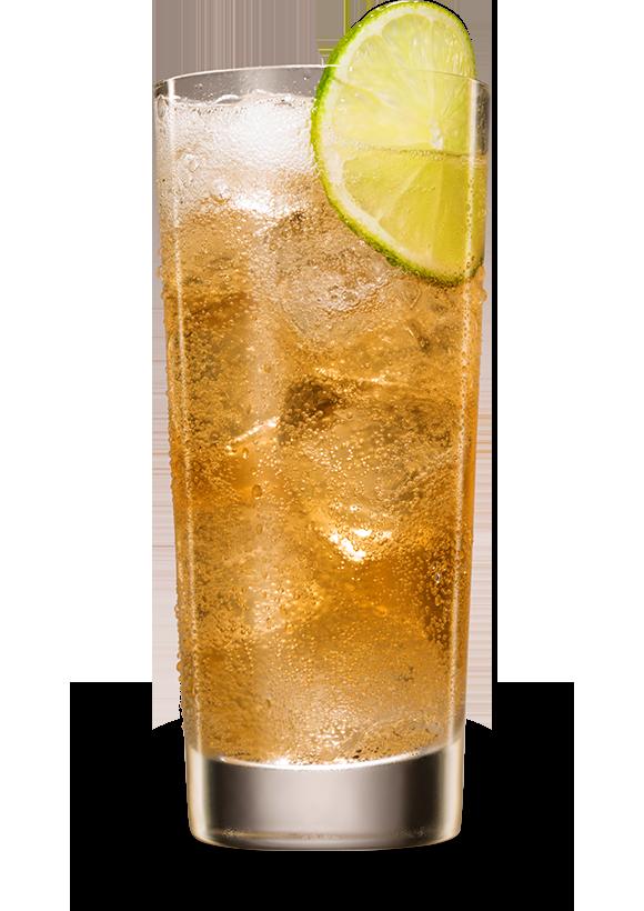 Cuatro & Ginger Ale