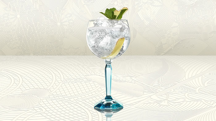 Bombay Sapphire Mint & Ginger Twist recipe