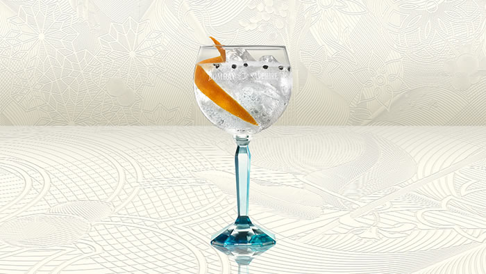 Bombay Sapphire Orange & Peppercorn Twist recipe