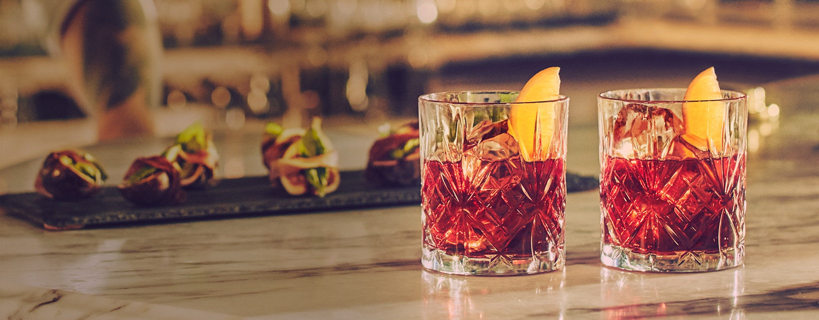 MARTINI NEGRONI COCKTAIL