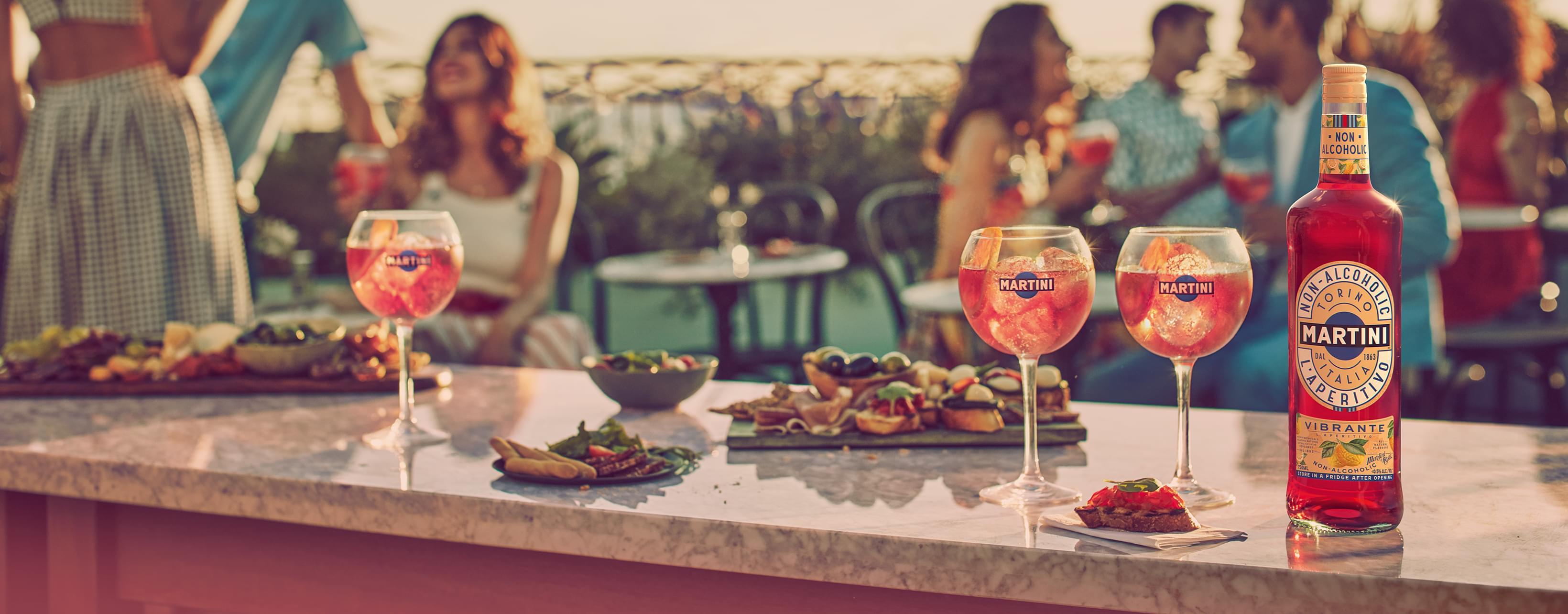 MARTINI NON-ALCOHOLIC VIBRANTE & TONIC