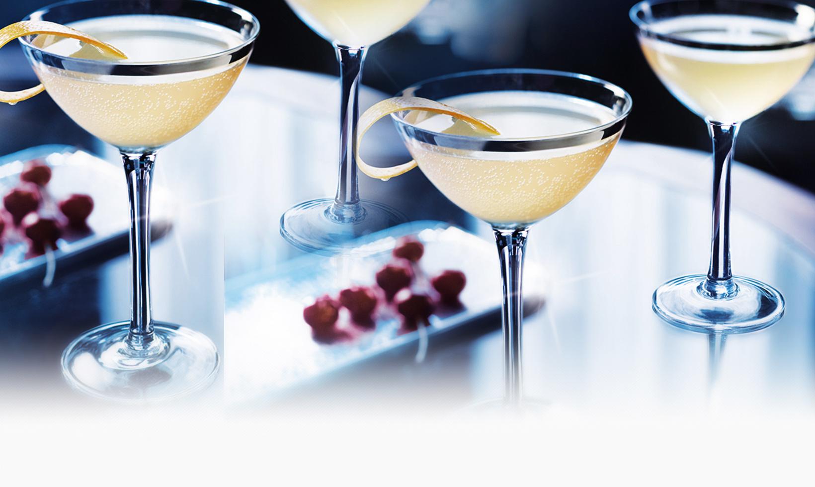 GREY GOOSE Cherry Noir Roman Cherry Martini Cocktail