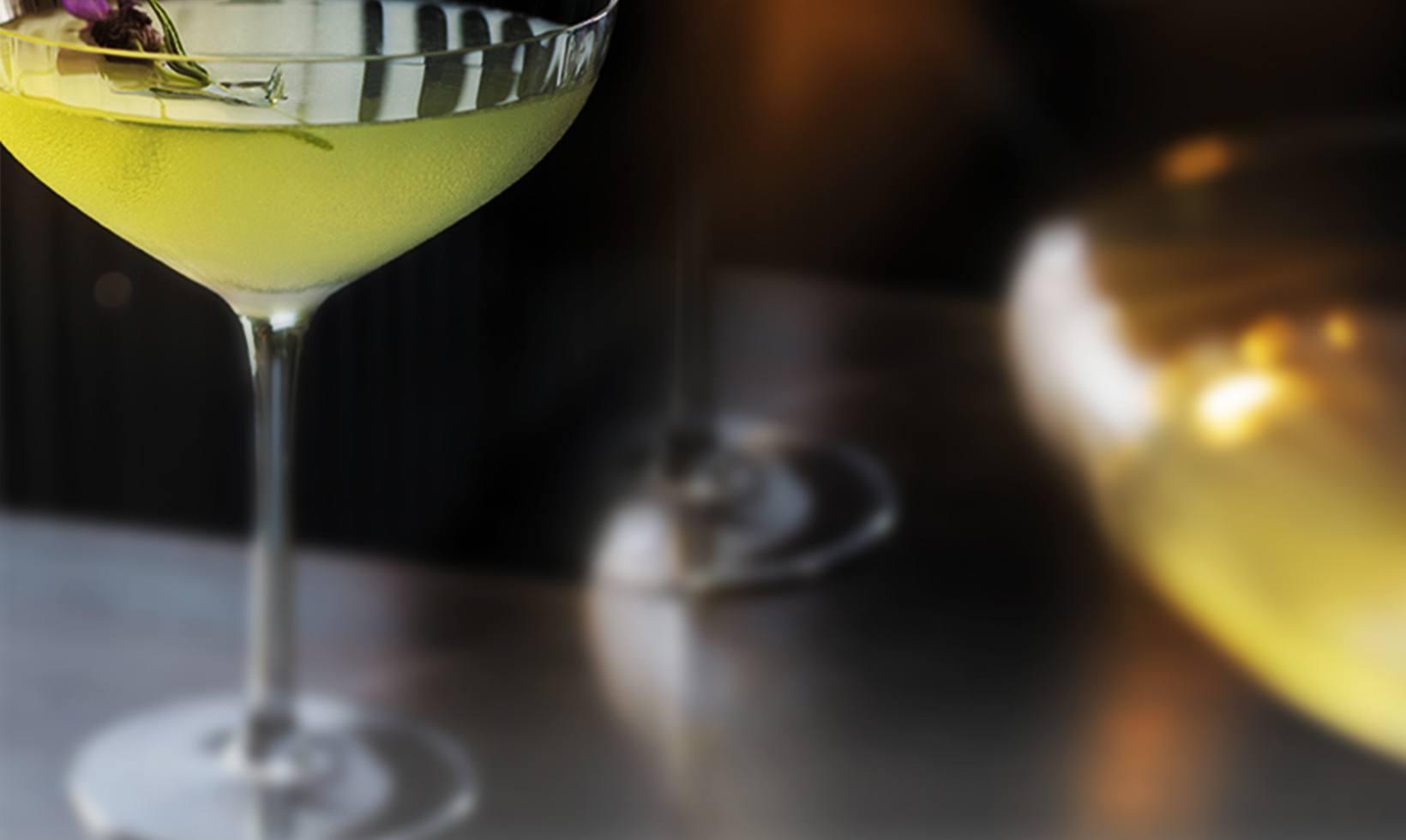 GREY GOOSE Le Citron Snowfall Martini Cocktail