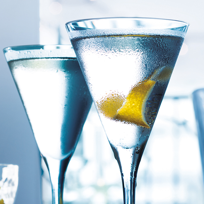 The GREY GOOSE martini  Cocktail