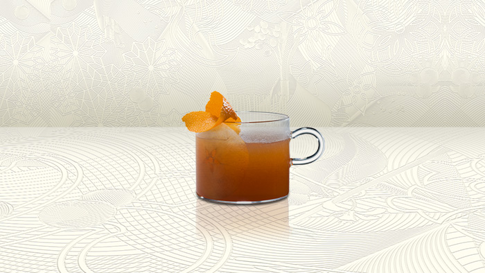 Warm Cocktail - Spiced Apple Tea