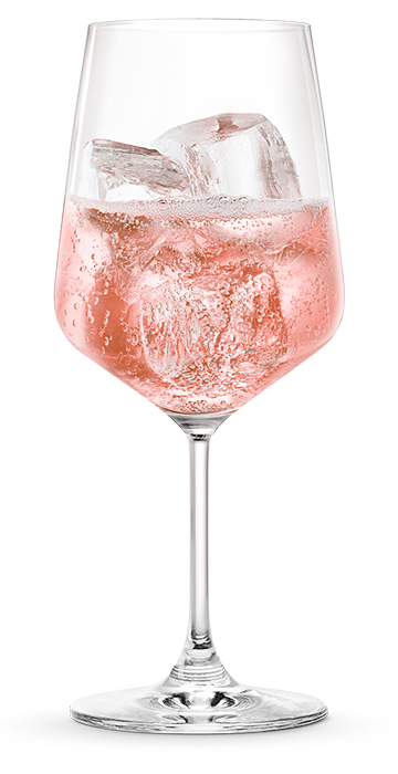 MARTINI ROSE EXTRA DRY BY THE GLASS