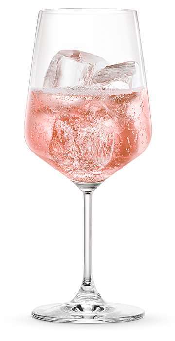 MARTINI ROSE DEMI-SEC BY THE GLASS