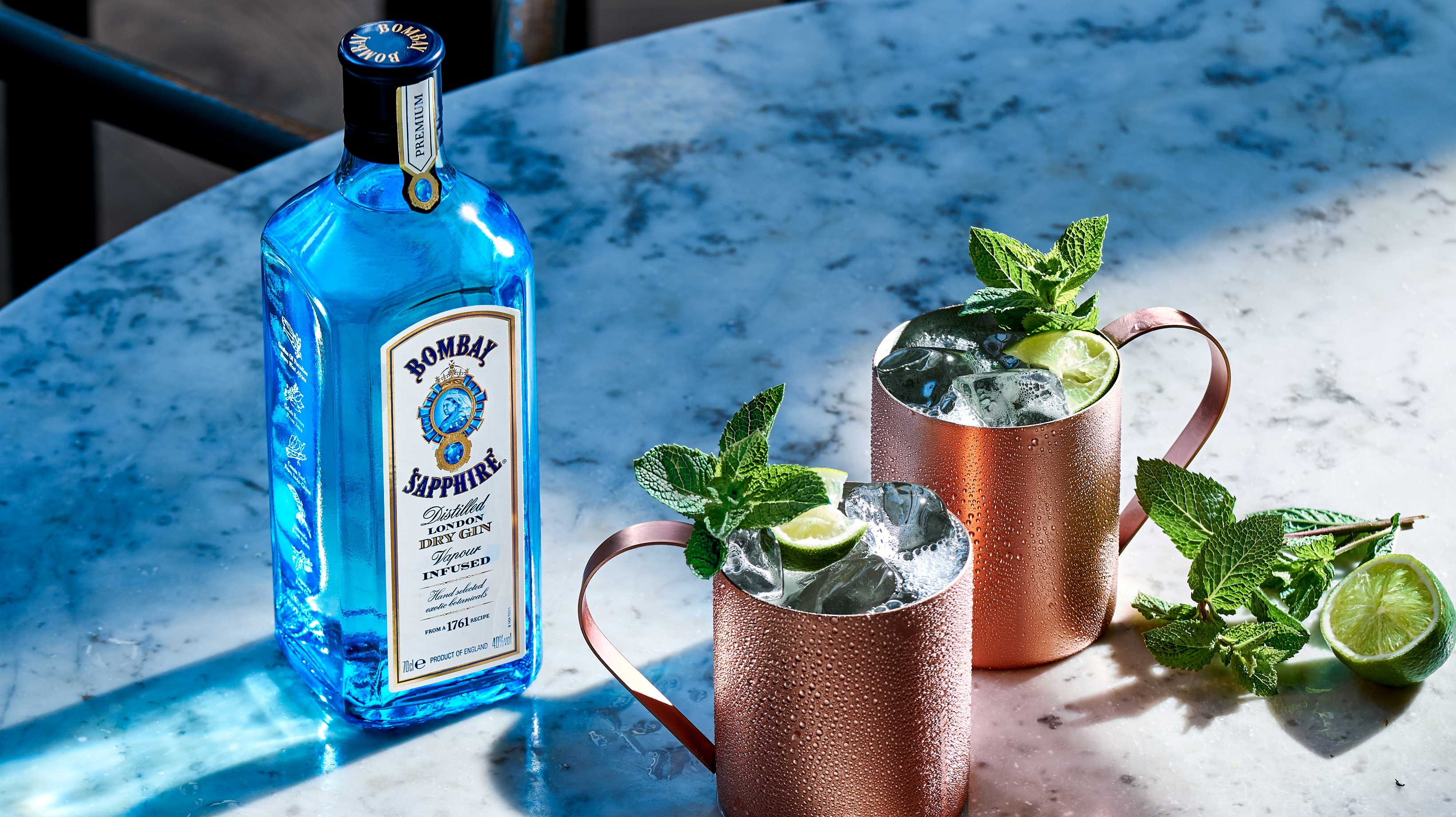 Gin Mule Cocktail Recipe How To Make A Gin Mule Bombay Sapphire