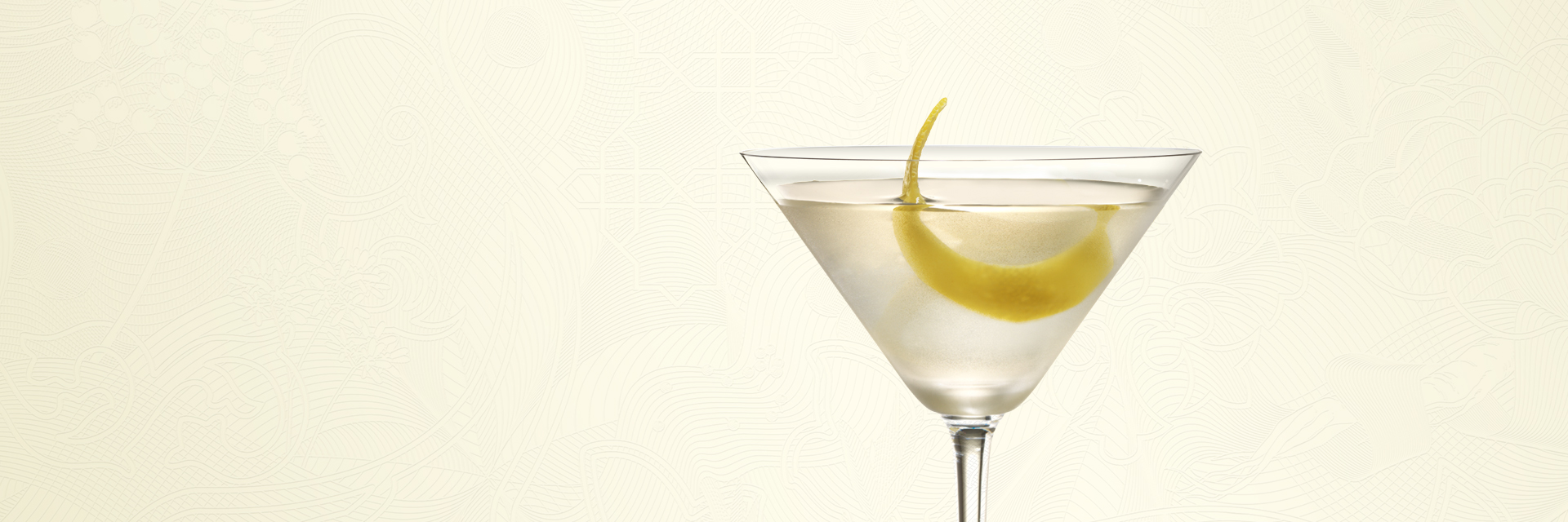 BOMBAY SAPPHIRE MARTINI COCKTAIL