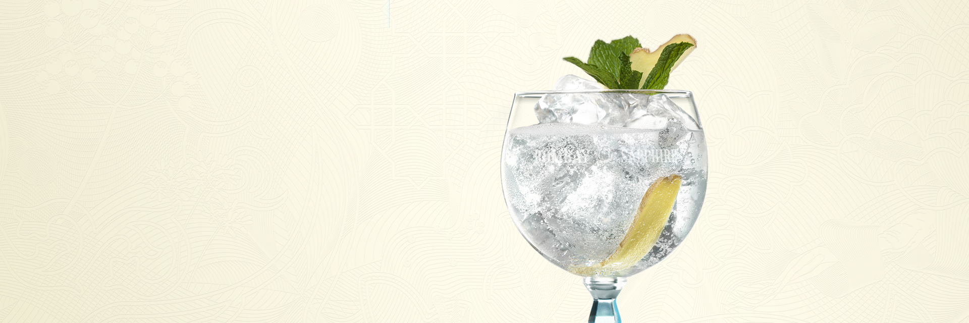 BOMBAY SAPPHIRE MINT & GINGER TWIST