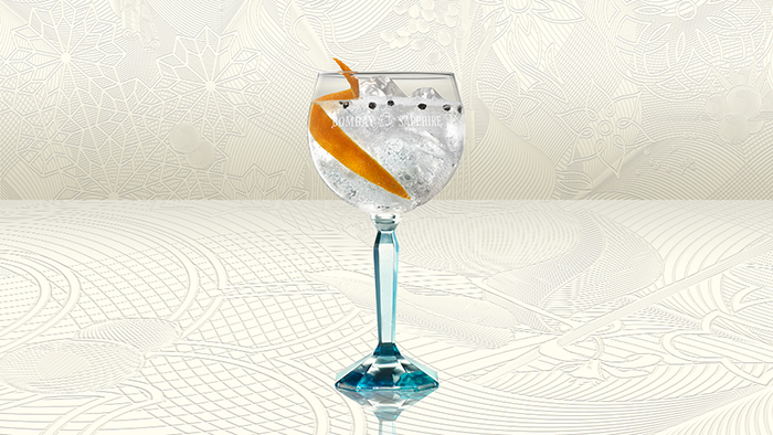 BOMBAY SAPPHIRE ORANGE & PEPPERCORN TWIST