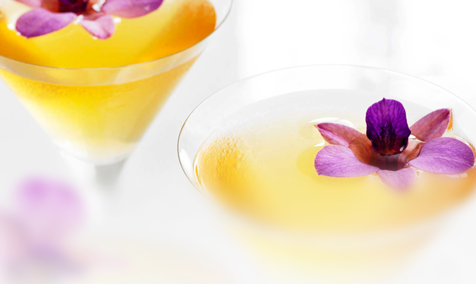 Butterfly Martini Cocktail