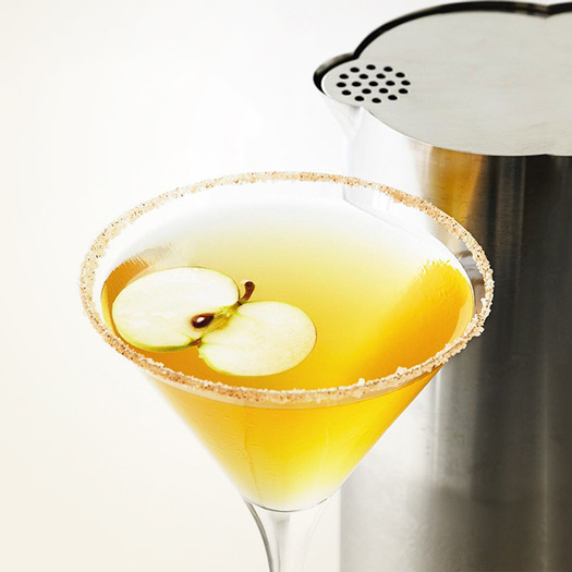 Apple Crisp Martini Cocktail