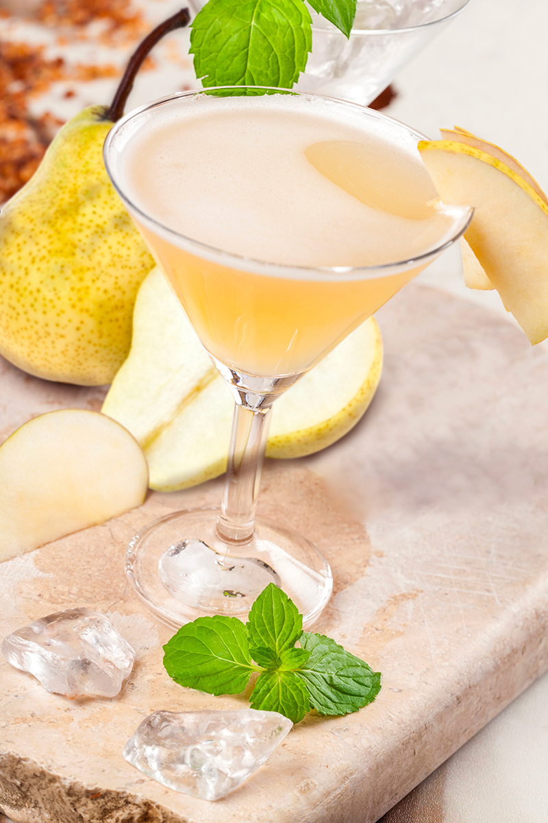 Pear Tree Martini Cocktail
