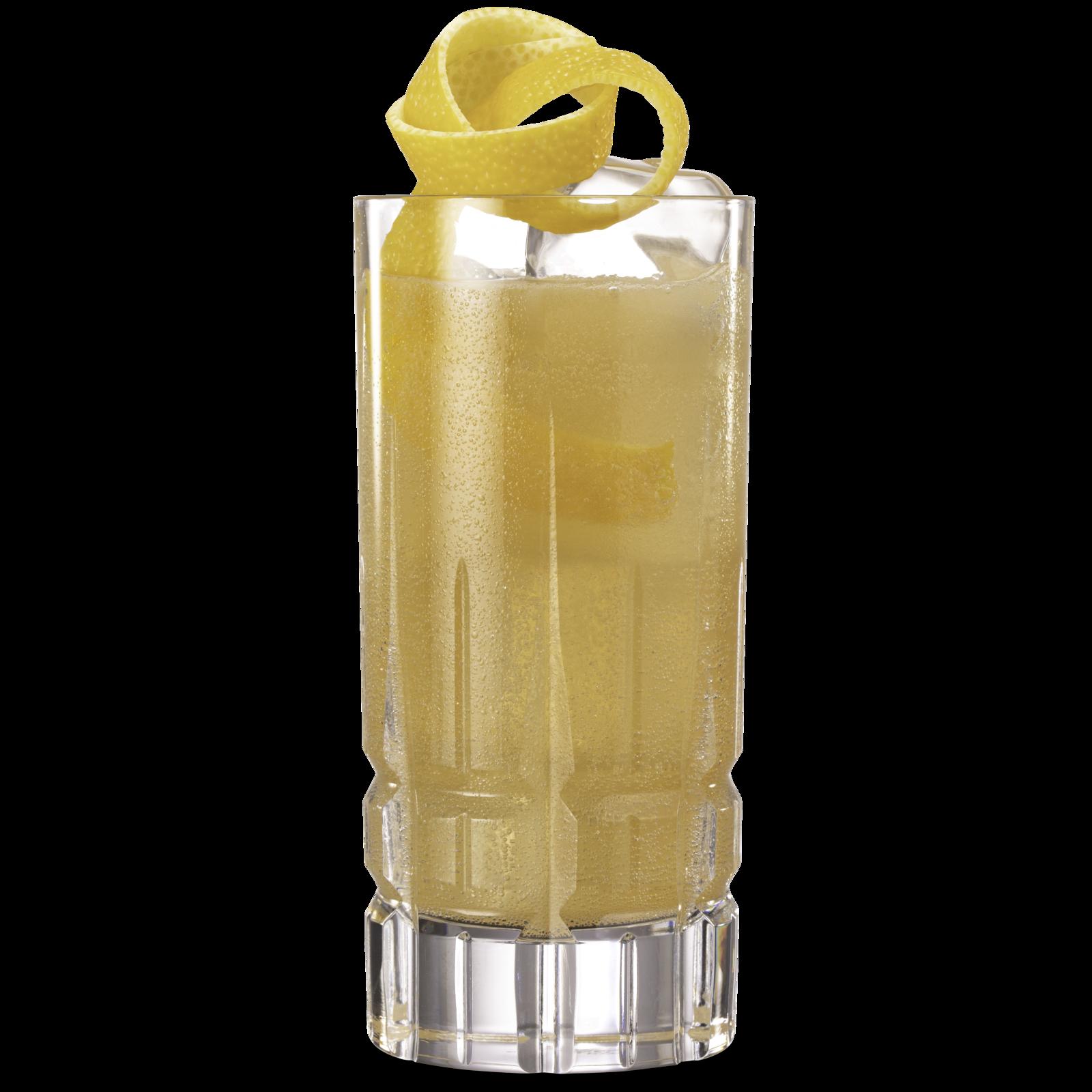 Spiced Pear & Elderflower Collins